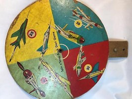 Vintage Transogram Spin n' Snap Back Dart Game 1955 with Suction Cups - $26.00