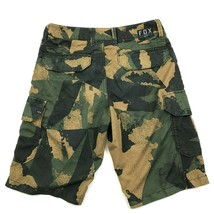 NEW FOX Racing Cargo Shorts Size 28 Adult HYBRID Short Camouflage Polyester - $23.53