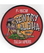 "4"" USAF AIR FORCE 125FS TULSA VIPERS 2019 SENTRY ALOHA EMBROIDERED JACKE... - $18.99"