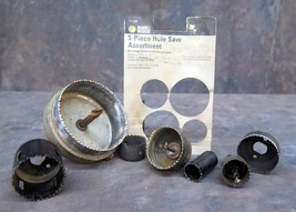 """Lot of Hole Saws - Lot of 9 items - For Wood, composition and plastics up to 4"""" - $14.25"""