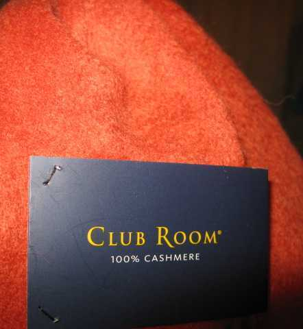 Macy's Club Room Cashmere Neck Scarf NEW with tags