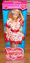 Valentine Barbie Doll (Mattel, 12675) Special Edition, 1994 (Frame 4 You!) - $28.22