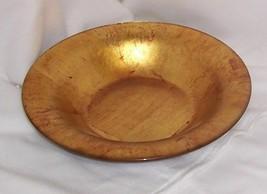 Venizia Centerpiece Bowl by PartyLite Gold Foil P8983 - $26.68
