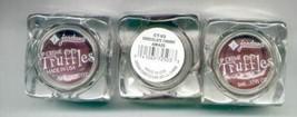 3 JORDANA Lip Cremes TRUFFLES-in Chocolate Cherry Amaze-New! - $2.95