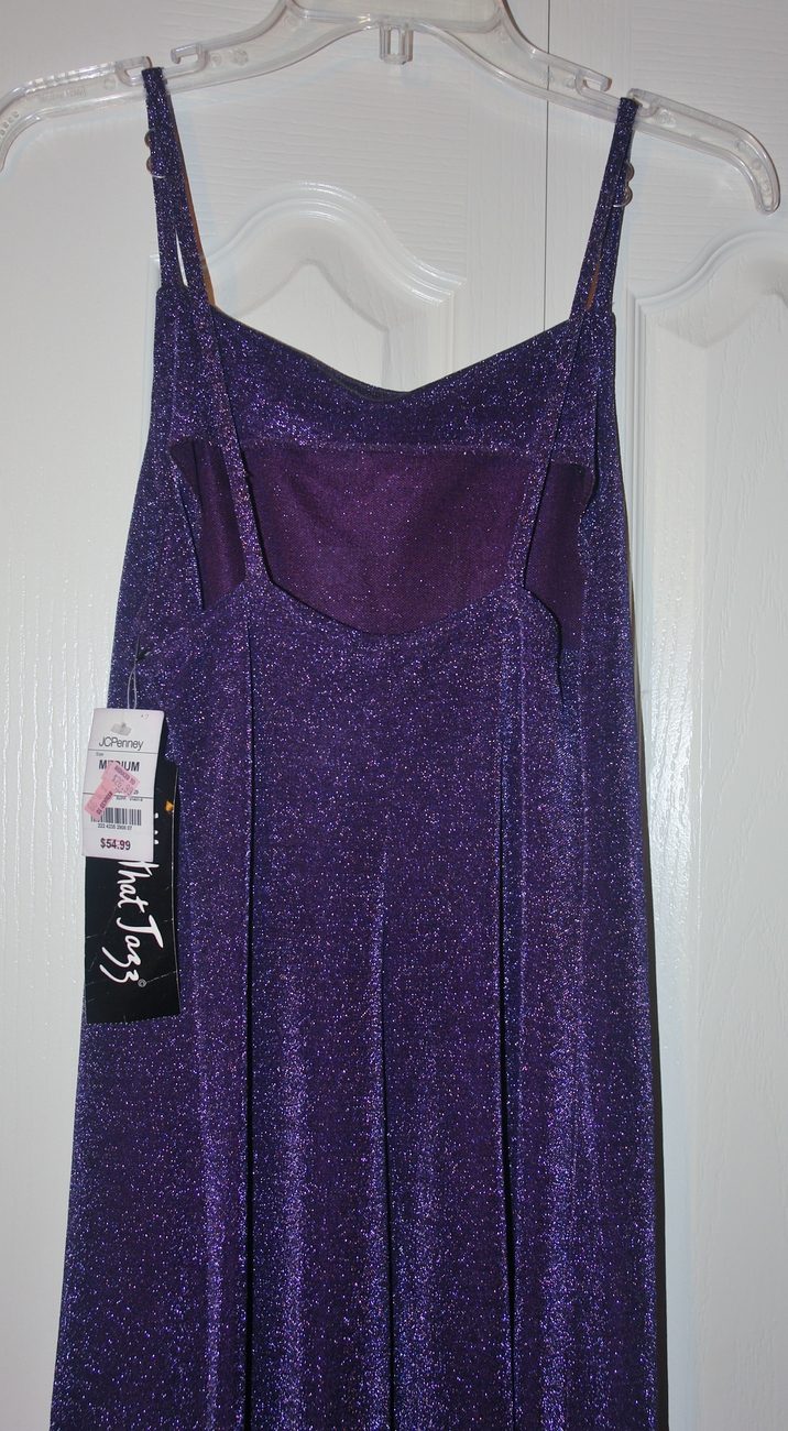 Purple Cocktail Dress New size Med