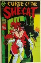 Curse Of The SHE-CAT #1 (1989) Ac Comics B&W Bill Black Gga Fine - $9.89