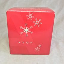 Avon 2006 Collectible Porcelain Gift Box Ornament Christmas Decoration Xmas image 6