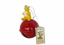 Walt Disney Christmas Ornament Winnie Pooh Figurine Christopher Robin re... - $33.81