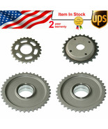 4x Timing Chain Gears for Audi A4 A6 4-Door V6 3.2L BDW AUK BKH 06E10957... - $21.78