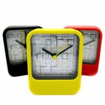 Clock & Mini Maze Toy Puzzle Small Mini Table Watch Time Quartz Fun Game... - $6.84
