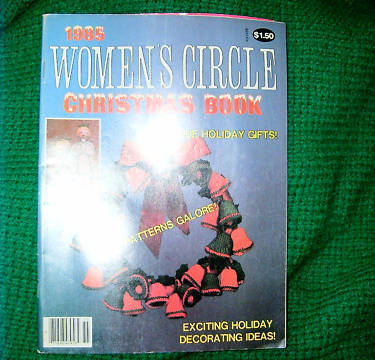 Womens Circle Christmas Book 1985 Issue