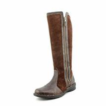 Clarks Women's Nikki Park Boot Brown Wrinkled Leather  - $119.99