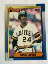 1990 Topps #220 Barry Bonds Pittsburgh Pirates MLB Baseball Trading Card - $0.99