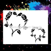 Heart Of Roses Set  Airbrush Stencil,Template - $10.99