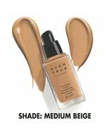 Avon True Colour Flawless Liquid Foundation SPF15 -1 oz - 30 ml / MEDIUM... - $19.95