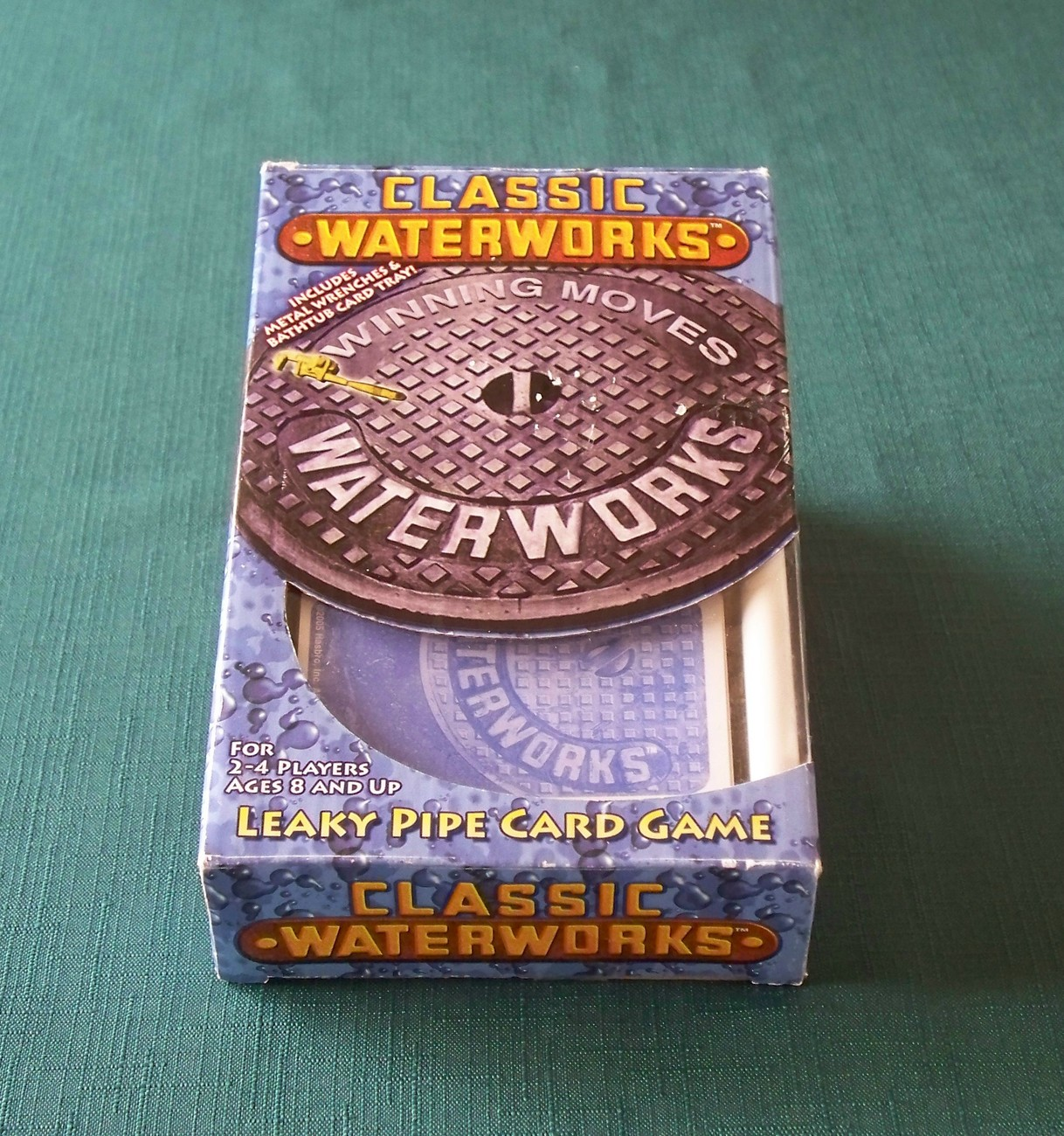 Primary image for Classic Waterworks Leaky Pipe Card Game  2005 Complete VGC