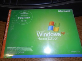 Microsoft Windows XP Home Edition for Toshiba - New In Sealed package - $61.29