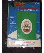 Titan Cross Stitch MRS. CLAUS Christmas Card Kit - $4.99