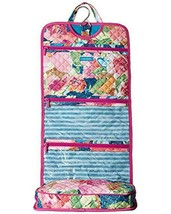 VERA BRADLEY SUPER BLOOM WATERCOLOR HANGING ORGANIZER COSMETIC JEWELRY NEW - $35.55