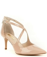 Louise et Cie Patent Leather Strappy Pointed Pumps, Multi Sizes Begonia ... - $89.95
