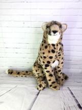 Vintage 1989 Applause WWF Wildlife Cheetah Large Cat Plush Stuffed Animal RARE - $149.24