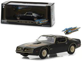 "1977 Pontiac Firebird Trans Am Black \""Smokey and the Bandit\"" (1977) Mo... - $30.34"