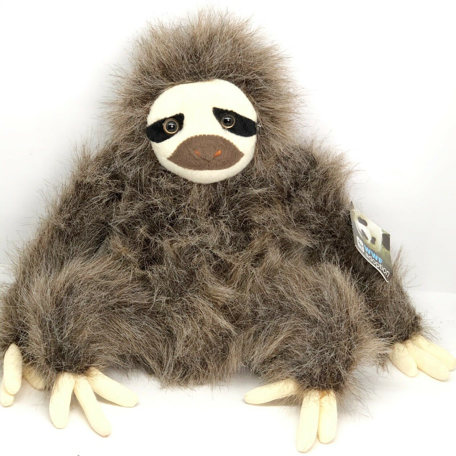 "Primary image for WWF Three-Toed Sloth Plush Fiesta 10"" Realistic Stuffed Animal Wildlife Adoption"