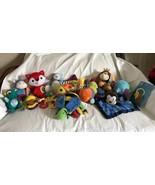 15 Plush Development Toys Rattle Teether Sassy Baby Einstein Ganz Nuby G... - $39.99