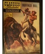 "1953 ""BUFFALO BILL"" #106 CLASSICS ILLUSTRATED COMIC COMPLETE HR 142 - $5.93"