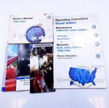 1999 Volkswagen MK3 Jetta Owners Manual Booklet Complete OEM 99 Guide Book - $25.74