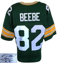 Don Beebe - Super Bowl Champ - Hand Signed Green Bay Packers Custom Jersey - Jsa - $98.95