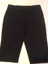 Girls-Size 6-Austin-capri pants-blue shorts/uniform -Great for school - $9.85
