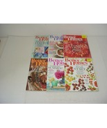 Lot of 6 Better Homes And Gardens Magazines 2015 to 2016 - $11.83