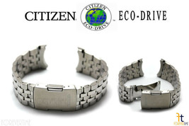 Citizen Eco-Drive Original H144-S067383 23mm Stainless Steel Watch Band  - $139.95