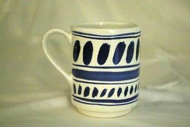 "Lenox Kate Spade 2019 All In Good Taste Blue Stacking Mug 4"" - $13.49"