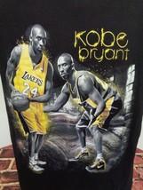 Los Angeles LA Lakers XXL Kobe Bryant NBA Champs 5 Rings T-Shirt - $24.49