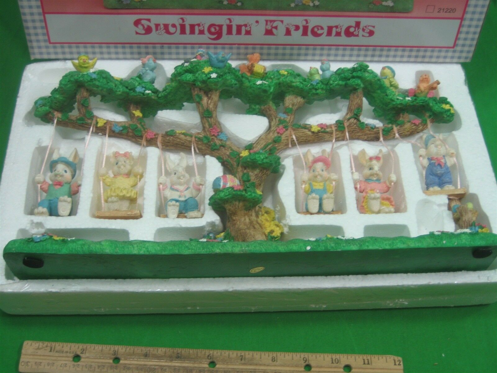 Studio 33 Swingin' Friends Statue Figurine Design By Jaimy Hand Painted
