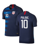 USA PULISIC # 10 away Soccer Jersey man Adult set for World Cup man 2018... - $28.98