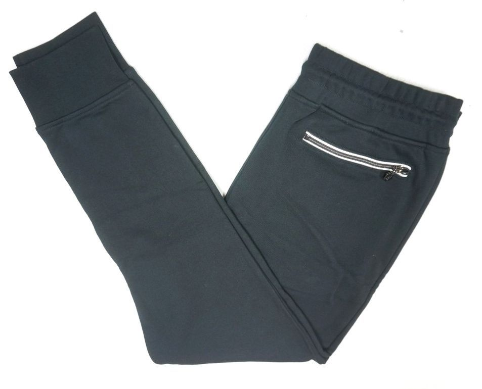 Primary image for NEW $225 KENT AND CURWEN BLACK WITH ZIP POCKETS CUFFED JOGGER SWEAT PANTS SIZE M