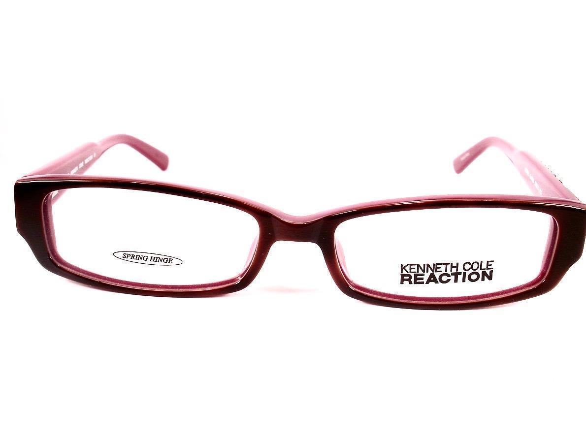 5f7ff3474b Kenneth Cole Reaction Eyeglass KC 702 Purple 056 Women Frames New 52-16-135