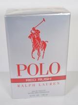 Polo Ralph Lauren Red Rush Eau Deo Toilette Natural Spray 125 ml 4.2 Oz - $79.20