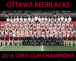 2016 OTTAWA REDBLACKS 8X10 TEAM PHOTO FOOTBALL PICTURE CFL GREY CUP CHAMPS - $3.95