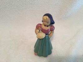 ANTIQUE  LAWTHORNE ROBINETTE POTTERY FIGURINE CALIFORNIA WOMAN GIRL W/ B... - $64.35