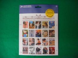 American Illustrators Self Adhesive Mint Stamp Sheet NH VF Original pk - $7.08