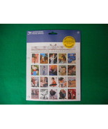 American Illustrators Self Adhesive Mint Stamp Sheet NH VF Original pk - $7.08