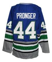 Any Name Number Whalers Retro Hockey Jersey Blue Pronger #44 Any Size image 2