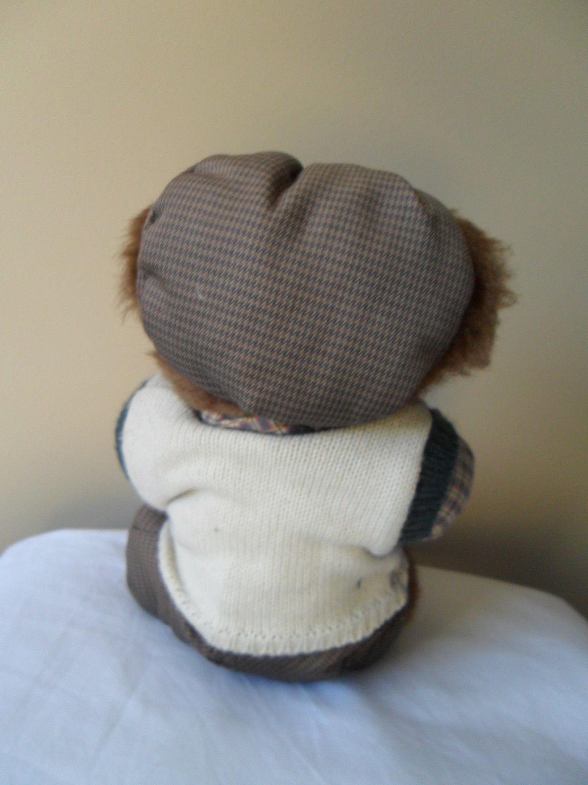 "Russ Golfer Bear  "" Knickers"" Plush Stuffed Animal Toy Golf Club Brown 12"" image 2"