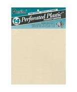 "Ivory 14ct perforated plastic 8.5"" x 11"" 2pcs/p... - $3.50"