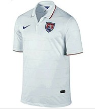 Nike 2014 World Cup USA Home Stadium Men's Soccer Jersey White Size: Small NWT - $35.53