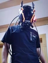 Props Steampunk mask, Handmade mask Respirator Mask, BDSM Mask, Biker Mask - $240.00